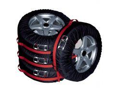 ✓Чехлы Auto Care FJCZ-001 для колёс автомобиля внешним диаметром от 545 до 730 см с ручкой для переноски