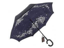 ☜Зонт Up-Brella Сакура ручной зонт двойное складывание в обратном направлении антизонт обратное сложение