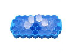 ✪Силиконовая форма для льда CUMENSS Соты Blue емкость для хранения льда