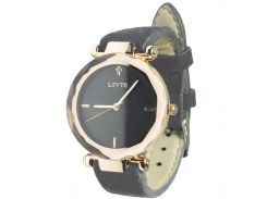 ✓Стильные часы женские LSVTR 2018 Grey многогранное стекло кварцевый механизм мягкий ремешок