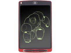 """☛Графический планшет Lesko LCD Writing Tablet 10"""" Red с стилусом для рисования"""