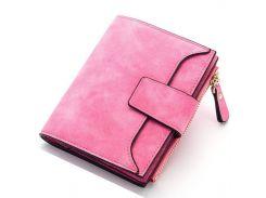 ✸Новый кошелек Baellerry N2347 Pink модный дизайн яркий оттенок вместительный для хранения купюр и монет