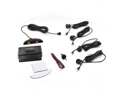 ☀Парктроник ParkCity N887 Black с LED дисплеем датчик парковки detectors 4 датчика цветовая индикация для авто
