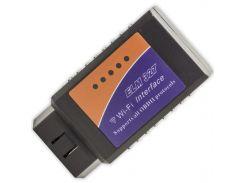 ☝Сканер для диагностики Lesko OBD2 адаптер ELM327 v2.1 Wi-Fi сервисное обслуживание блютуз универсальный