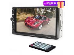 ✓Автомагнитола 2 DIN Lesko 7018B WinCE мультимедийная 7 дюймов сенсорная Оригинал Bluetooth пульт ДУ + Подарок