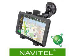 "❋GPS навигатор Navitel 7"" DVR700PI Max IPS экран память 1/16 Gb Батарея 3000 мАч Android 6.0"