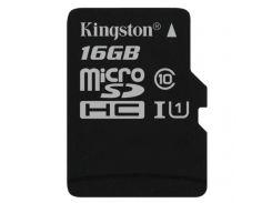 ☜Карта памяти Kingston 16 Gb microSDHC class10 высокая скорость передачи данных