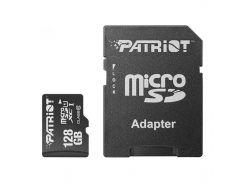 ✳Карта памяти Flash card Patriot LX 128GB MicroSDXC UHS-I Class 10 + SD-adapter