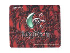 ◯Коврик Logitech F2 200*240*1.5mm Red для компьютерной мыши игровая поверхность для геймеров