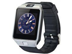 ➚Смарт-часы UWatch DZ09 Silver Bluetooth 3.0 Батарея 380 мАч разрешение 240х240px камера