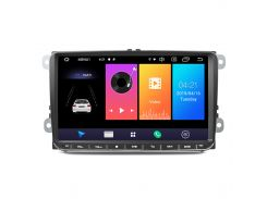 "Штатная автомагнитола 9"" Volkswagen 9021A GPS Bluetooth Hands Free мощность 4х50Вт Can модуль WiFi Android 8.1"