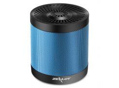 Музыкальная колонка ZEALOT S5 Blue microSD USB Громкая связь Bluetooth 4.0 мощность 5W