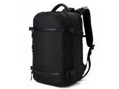 Сумка-рюкзак большой городской Ozuko 8983L Black мужской для походов путешествий водостойкий