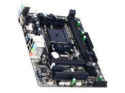 ☎Материнская плата Gigabyte GA-F2A68HM-S1 для компьютера Socket FM2+ 2 х DDR3 micro ATX RAM 64 Gb AMD Athlon