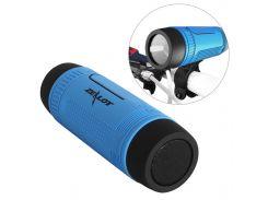 Влагозащищенная мини колонка BL ZEALOT S1 Синий bluetooth 5.0 Мощность 3Вт 4000 мАч