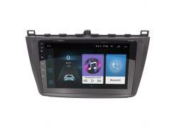 "Штатная автомагнитола 9"" Mazda 6 (2008-2014 г.) навигация GPS AM/FM радио Can модуль 4 ядра Wi Fi Android 8.1"