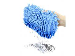 Автомобильная губка для мытья машины Lesko 11*23*5.5 см Blue пористая с впитывающим эффектом