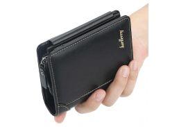 Мужской кошелек Baellerry D9159 Black портмоне для мужчин стильный аксессуар Байлери