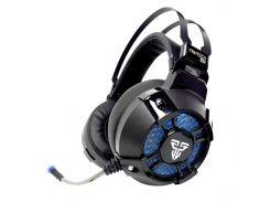 Гарнитура FANTECH HG11 CAPTAIN Black USB Технология True 7.1 RGB подсветка объемный звук наушники микрофон