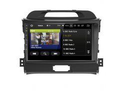 "Штатная автомагнитола 9"" Kia Sportage GPS модуль Bluetooth Wi-Fi память 1/16 ГБ мощность 4х50Вт Android 8.1"