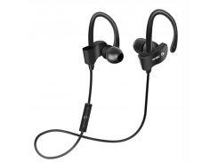 ☛Bluetooth гарнитура Freesolo 56S Black беспроводная стерео Блютуз 4.1 музыкальные наушники вакуумные