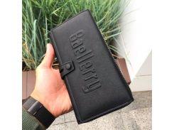 ★Кошелек для мужчин Baellerry GUERO S1393 Black для хранения кредитных карт монет на змейке мужской Оригинал