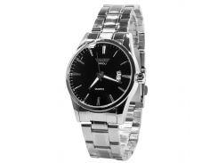 Наручные часы SWIDU SWI-021 Silver + Black для мужчин с кварцевым механизмом стальной корпус
