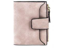 ➤Женский кошелек Baellerry N2347 Light Pink функциональный удобный вместительный для хранения купюр