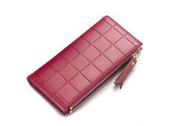 ✱Женский кошелек Lee princess NY138 Red стильный аксессуар для хранения денег отделения для купюр монет