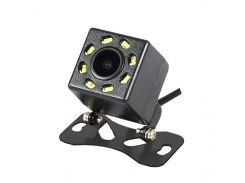 Автомобильная камера заднего вида Lesko JF-018 универсальная для авто 8 LED