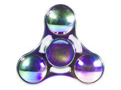 Спиннер металлический Fidget spinner UFO Градиент игрушка антистресс