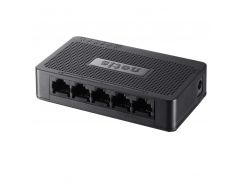 Сетевой коммутатор Netis ST3105S на 5 портов Fast Ethernet автосогласование энергосбережение