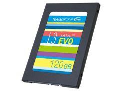 """Твердотельный накопитель SSD Team 120 GB L3 EVO 2,5"""" SATA III TLC (T253LE120GTC101) для ПК и ноутбука"""