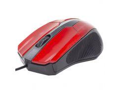 ☇Компьютерная мышь Apedra M3 Red 1000 dpi USB для ноутбуков и Пк проводная