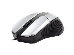 ★Компьютерная мышь Apedra M3 Silver 1000 dpi USB для Пк и ноутбуков проводная