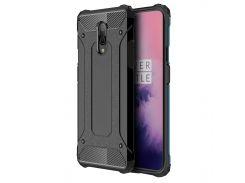 ❇Противоударный чехол Shield для смартфона OnePlus 7 Black защитная накладка бампер от сколов падений