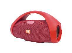 ➚Колонка BL JBL Boombox mini Red стерео звук Bluetooth встроенный микрофон USB флеш/ microUSB