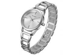 ✥Женские часы BAOSAILI BSL1041 Silver наручные часы на кварцевом механизме модный дизайн