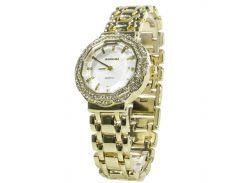 ➢Наручные часы BAOSAILI BSL1029 Gold с камнями женские кварцевые модные для девушек