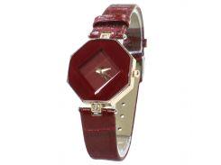 ★Часы Rowng Геометрия Red женские кварцевые для повседневного ношения классические наручные