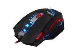 ☛Игровая мышь Zelotes T-90 max разрешение 9200 DPI с LED подсветкой 8 кнопок проводная для игр