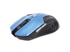 ✓Компьютерная мышь iMICE E-1500 Blue беспроводная 1600 DPI 6 кнопок для настольного ПК