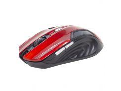 ☇Беспроводная мышь iMICE E-1500 Red компьютерная 1600 DPI 2.4 Ггц 6 кнопок для ПК и ноутбука