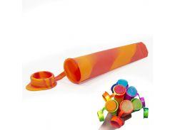 ✸Силиконовая форма CUMENSS N02067 Red + Orange для мороженого и фруктового льда