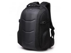 """Рюкзак городской Ozuko 8980 Black для ноутбука 15.6"""" с панцирем для мужчин водонепроницаемый износостойкий"""
