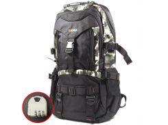 Большой рюкзак для путешествий KAKA 2020 D Camouflage туризма водостойкий с большим отделением карманами USB