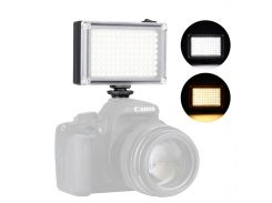 Накамерный свет Ulanzi 112LED для фото-видеосъемки димируемая светодиодная панель с двумя фильтрами 4хАА
