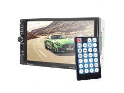 Автомагнитола Lesko 7021G Windows с навигатором мультимедийная с экраном 7 дюймов USB TF AUX и GPS для авто*