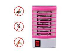 Ультрафиолетовый уничтожитель насекомых Lesko 2014 Pink ловушка-отпугиватель от комаров мошек