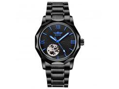 Наручные часы мужские Winner Concept H199 Black брендовые стальные механические